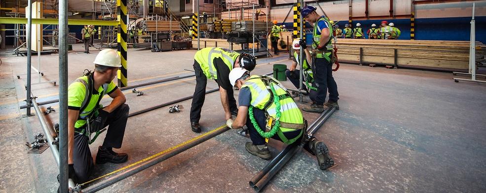 scaffolding training scheme