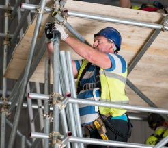 Anglesey scaffolding training centre